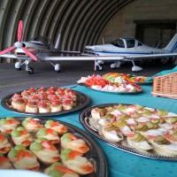 Lehké občerstvení na letišti